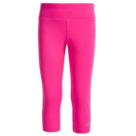 Marika Active Capris (For Big Girls) in Neon Ko Pink - Closeouts