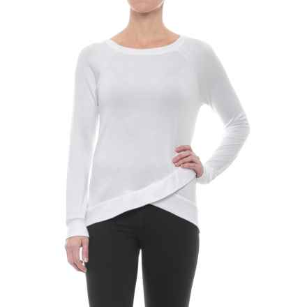 Marika Balance Collection Karma French Terry Shirt - Long Sleeve (For Women) in White - Closeouts