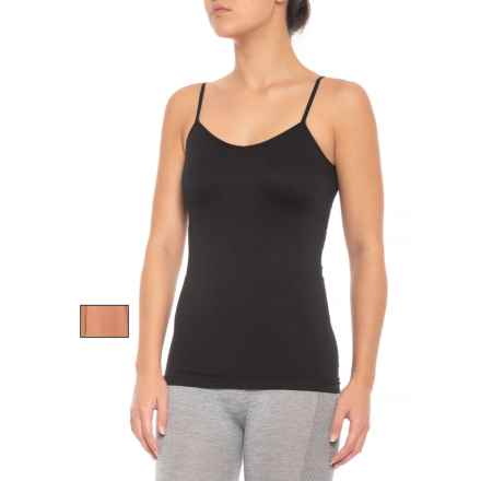 Marika Seamless Camisole - 2-Pack (For Women) in Toast/Black - Closeouts