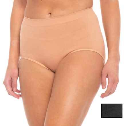 Marika Seamless Shaper Panties - 2-Pack Briefs (For Women) in Nude/Black - Closeouts