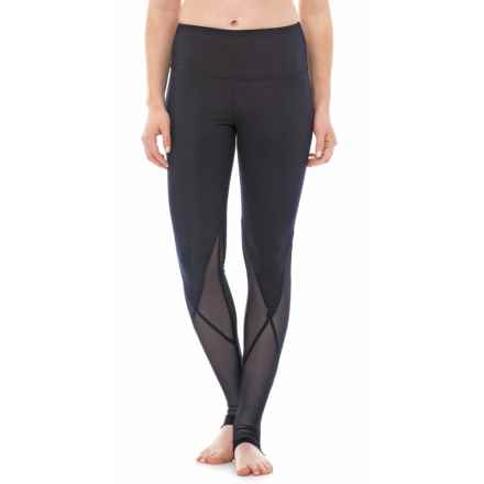 Marika Sofia Stirrup Leggings - High Waist (For Women) in Midnight Blue - Closeouts