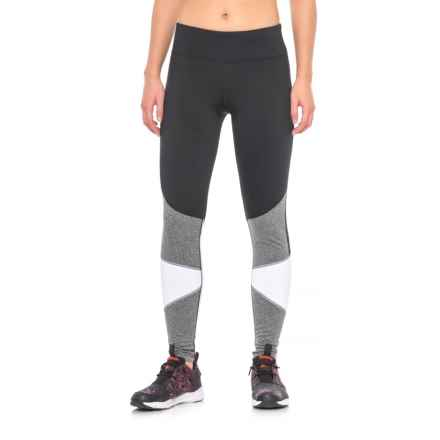 Marika Tech Sleet Leggings (For Women) in Black White Heather Grey - Closeouts