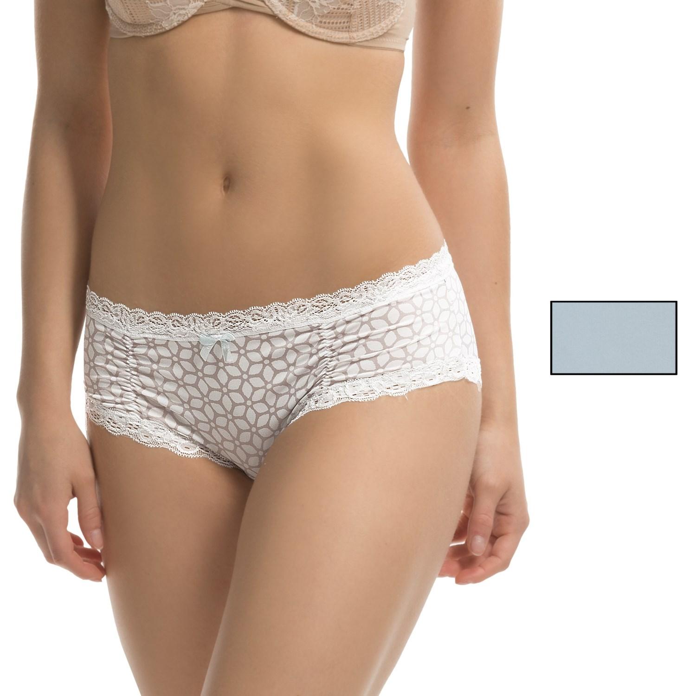 Microfiber bikini womens panties