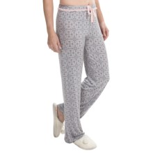Marilyn Monroe Printed Pajama Pants (For Women) in Silver Garden - Closeouts