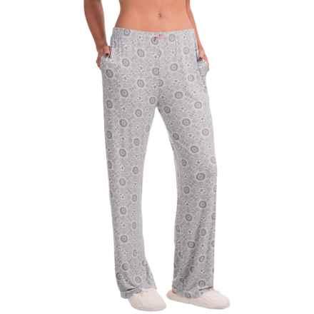 Marilyn Monroe Rayon Lounge Pants (For Women) in Grey Mandala - Closeouts