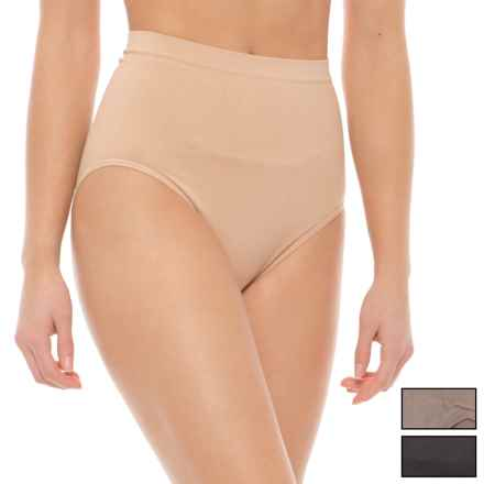 Marilyn Monroe Shaping Panties - Briefs, 3-Pack (For Women) in Naked/Amazon Stone/Black - Closeouts