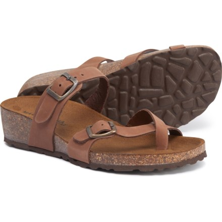 790f96a63 Marina Luna Comfort Made in Italy Toe Thong Sandals - Leather (For Women) in