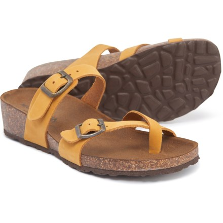 3228cb2b3a Marina Luna Comfort Made in Italy Toe Thong Sandals - Leather (For Women) in