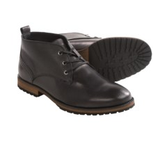 Mark New York by Andrew Marc Kane Chukka Boots (For Men) in Black/Cymbal - Closeouts