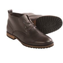 Mark New York by Andrew Marc Kane Chukka Boots (For Men) in Espresso/Cymbal/Black - Closeouts