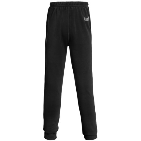 Marker Active Fleece Tights - Base Layer, Heavyweight (For Girls) in Black