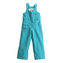 Marker All Day Bib Pants - Insulated (For Toddlers) in Sky - Closeouts