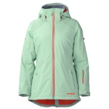 Marker Alpine Bowl Pertex® Ski Jacket - Waterproof (For Women) in Jade - Closeouts