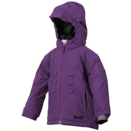 Marker Aquarius Jacket - Insulated (For Little Girls) in Purple