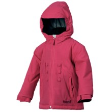 Marker Aquarius Jacket - Insulated (For Little Girls) in Sorbet - Closeouts