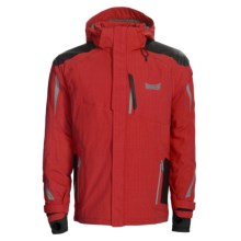 Marker Arrowhead Jacket - Waterproof, Insulated (For Men) in Red - Closeouts