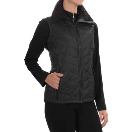 Marker Attitash Pertex® Microlight Vest - Insulated (For Women) in Black - Closeouts
