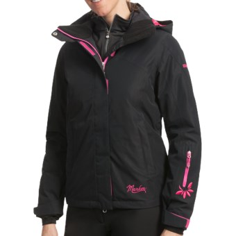 Marker Aurora Gore-Tex® Jacket - Waterproof, Insulated (For Women) in Black