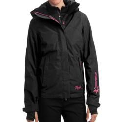 Marker Aurora Gore-Tex® Shell Jacket - Waterproof (For Women) in Black/White