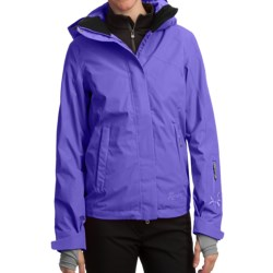 Marker Aurora Gore-Tex® Shell Jacket - Waterproof (For Women) in Black/White