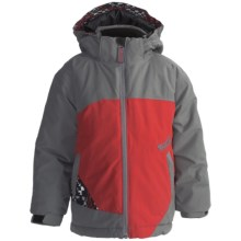 Marker B. Crown Jacket - Insulated (For Little Boys) in Graphite/Red - Closeouts