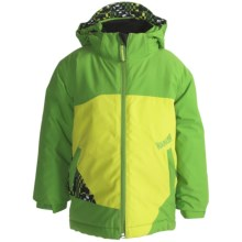 Marker B. Crown Jacket - Insulated (For Little Boys) in Green/Bamboo - Closeouts