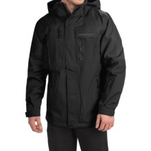 Marker Banner Pertex® Ski Jacket - Waterproof, RECCO® (For Men) in Black - Closeouts