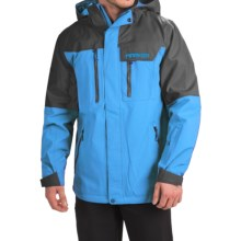 Marker Banner Pertex® Ski Jacket - Waterproof, RECCO® (For Men) in Blue Bird/Dark Shadow - Closeouts
