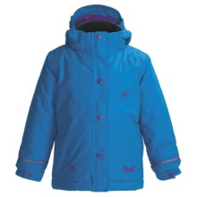 Marker Belle Jacket - Insulated (Little Girls) in Cadet - Closeouts