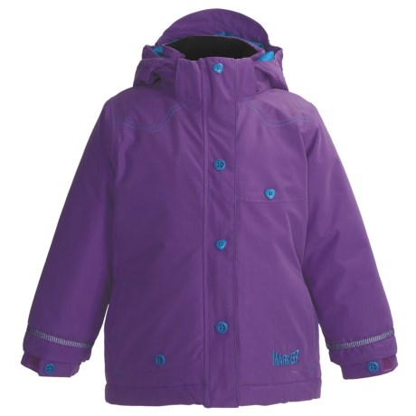 Marker Belle Jacket - Insulated (Little Girls) in Lilac