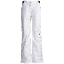Marker Betty Snow Pants - Waterproof, Insulated (For Women) in White - Closeouts