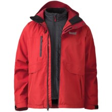 Marker Biosphere Gore-Tex® Jacket - Waterproof, 3-in-1 (For Men) in Red - Closeouts