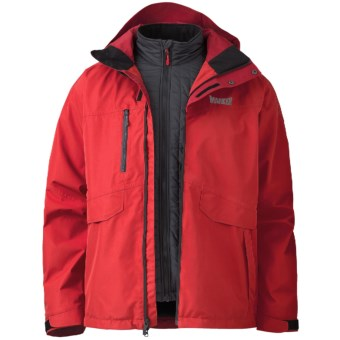 Marker Biosphere Gore-Tex® Jacket - Waterproof, 3-in-1 (For Men) in Red