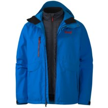 Marker Biosphere Gore-Tex® Jacket - Waterproof, 3-in-1 (For Men) in Royal - Closeouts