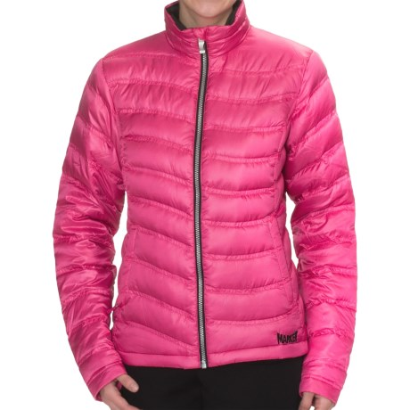 Marker Bryce Down Jacket - 600 Fill Power (For Women) in Hot Pink