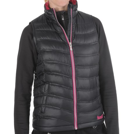 Marker Bryce Down Vest - 600 Fill Power (For Women) in Black