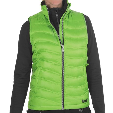 Marker Bryce Down Vest - 600 Fill Power (For Women) in Flash Green