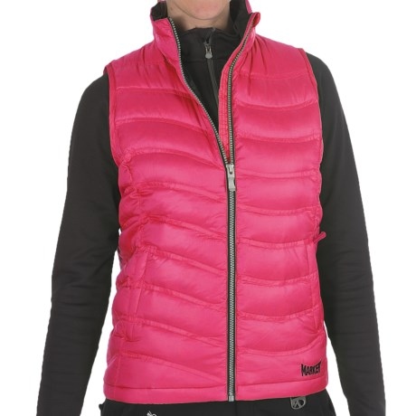 Marker Bryce Down Vest - 600 Fill Power (For Women) in Hot Pink