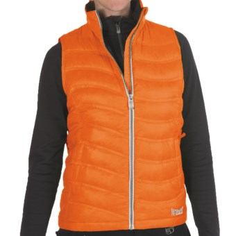 Marker Bryce Down Vest - 600 Fill Power (For Women) in Orange