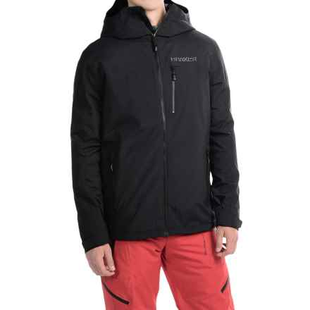 Marker Canyon Express Jacket - Waterproof, Insulated (For Men) in Black - Closeouts