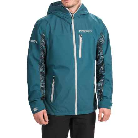 Marker Canyon Express Shell Jacket - Waterproof (For Men) in Legion Blue - Closeouts