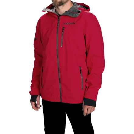 Marker Canyon Express Shell Jacket - Waterproof (For Men) in Red - Closeouts