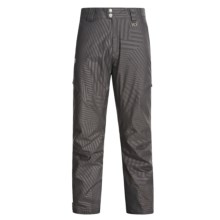 Marker Cargo Pants - Waterproof, Insulated (For Men) in Black - Closeouts