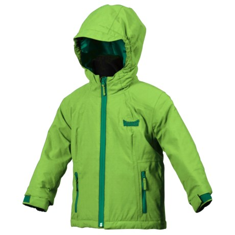 Marker Caribou Jacket - Insulated (For Little Boys) in Firefly