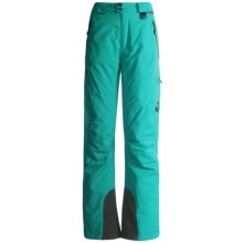 Marker Carina Gore-Tex® Performance Shell Pants - Waterproof, Insulated (For Women) in Tile Blue - Closeouts