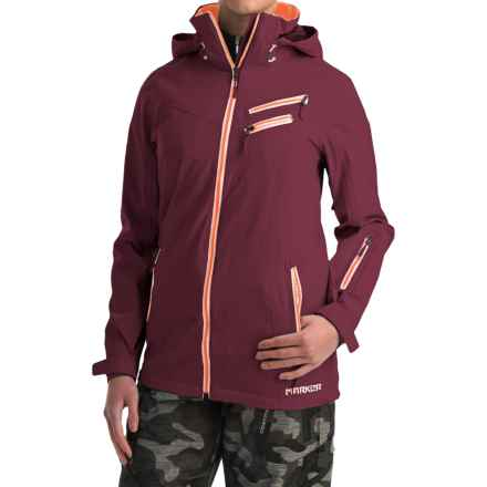 Marker Cornice Ski Jacket - Waterproof (For Women) in Currant - Closeouts