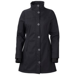 Marker Courtney Soft Shell Jacket (For Women) in Black