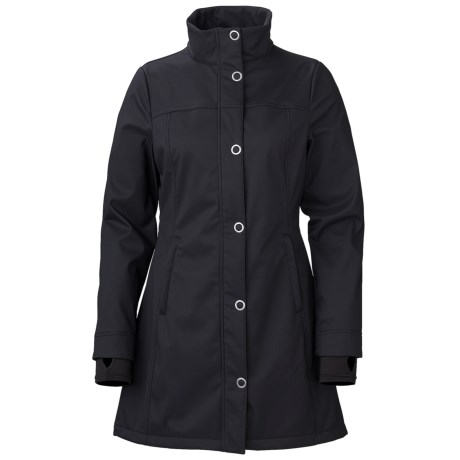 Marker Courtney Soft Shell Jacket (For Women) in Black