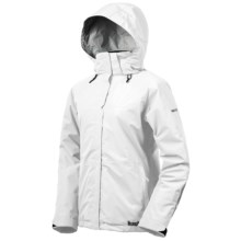 Marker Crescent Gore-Tex® Performance Shell Jacket - Waterproof, Insulated (For Women) in White - Closeouts