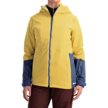 Marker Crossover Ski Jacket - Waterproof, Insulated, RECCO® (For Women) in Aspen Yellow - Closeouts